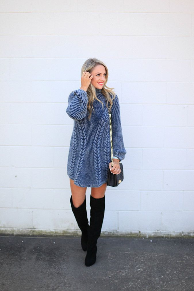 Sweater dress. One I would actually wear!!