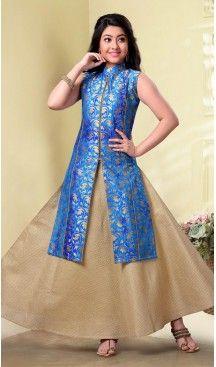 Sky Blue Color Jecard Silk,Havy Broket Party Wear Girls Salwar Kameez | 11142453 Follow us @heenastyle #design #designer #fashion #dresses #girlsdresses #children #childrensapparel #indiella #wedding #girlsfashion #girl #girlsstyle #girlsparty #partydress #kids #kidsstyle #kidsfashion #dress #designerkidz #longsleevedress #onlineshopping #girlssummerdress #girlswear #buyhandcrafted #buybritishbrands #heenastyle #girlssalwarkameez #kidssalwarkameez