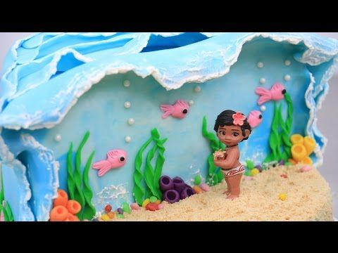 MOANA CAKE How To Make by CakesStepbyStep - YouTube