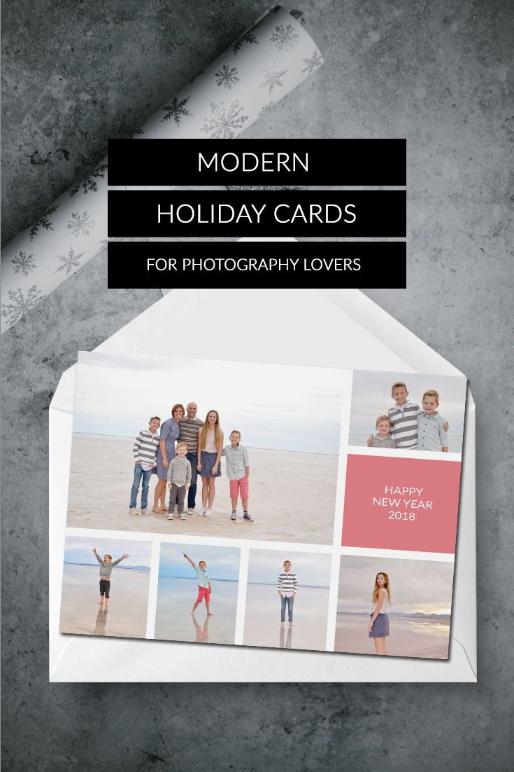 Photo Christmas Card | Christmas cards | Photo Holiday cards | Photo ...