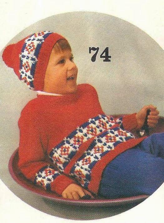 Vintage+knitting+free+patterns,+gratis+breipatronen+onder+andere+jaren+70+patronen:+Prachtige+kindertrui+om+zelf+te+breien+met+gratis+...