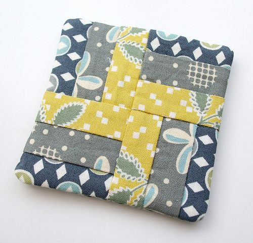 i like this pattern for quilt squares, strip piece 3 fabrics. :) quick