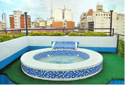 Hotel Imperial in Cali, Colombia - Lonely Planet - $49 a night for three person room. sauna, hot tub, pool, air-con.