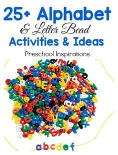 The Best Alphabet Bead Activities and Ideas