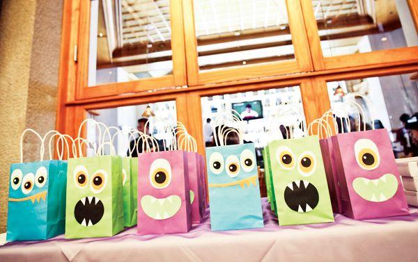 Monster Themed First Birthday {Korean Dol}