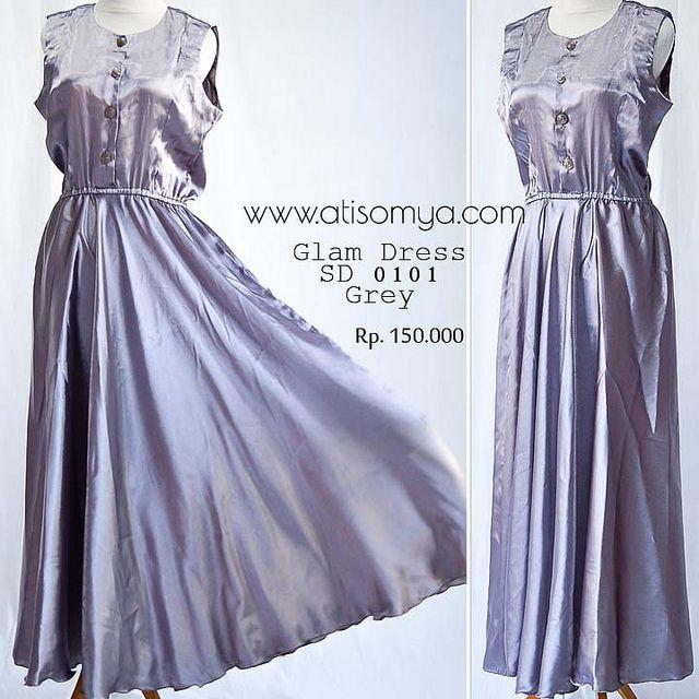 Glam Dress Satin Atisomya by atisomya-hijab, via Flickr
