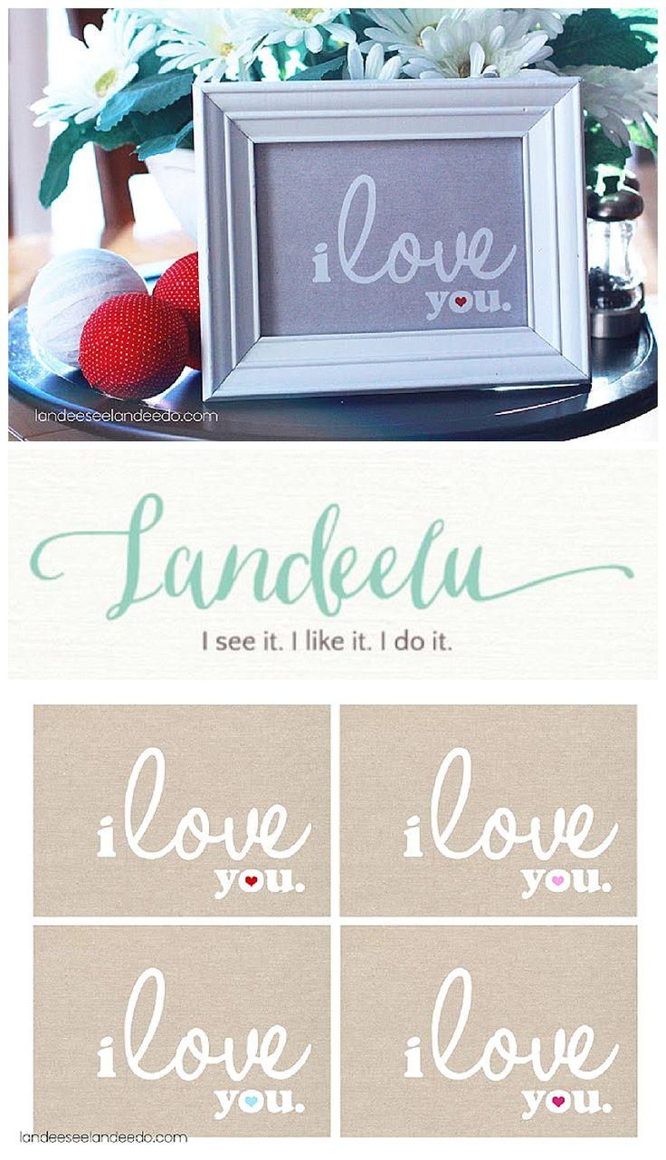 Valentine's Day Printable   *Beautiful Printables ...