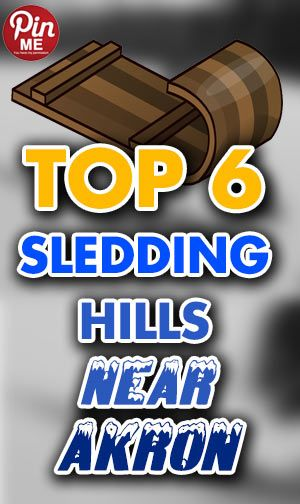 Top Sled Riding Hills near Akron, Ohio