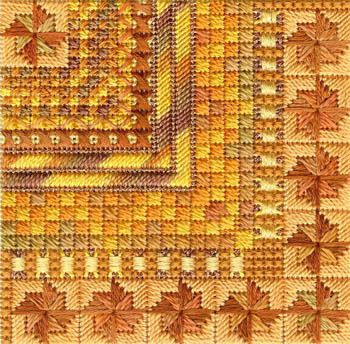 Color Delights Pumpkin - Needlepoint Pattern