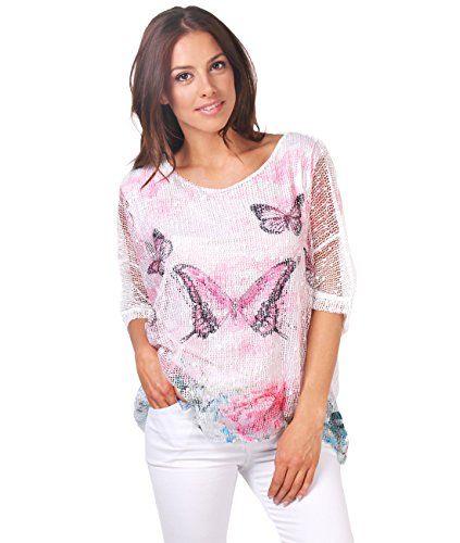 KRISP -  T-shirt - Stampa animalier - Maniche corte  - Donna Pink 40