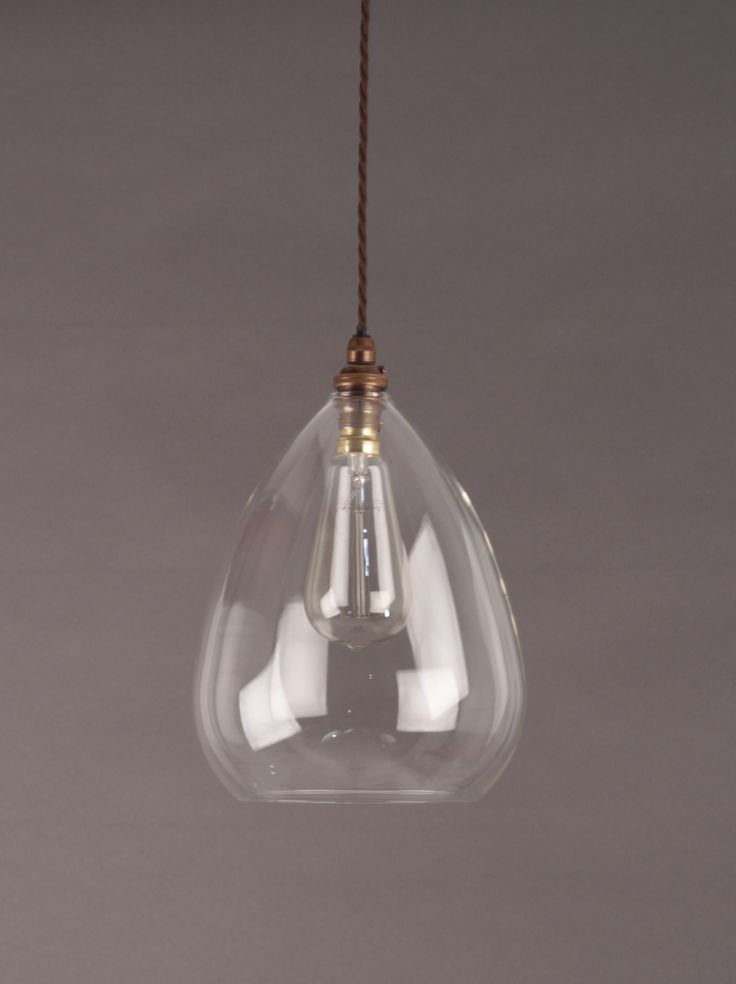 modern lighting wellington clear glass pendant light - Clear Glass Pendant Light