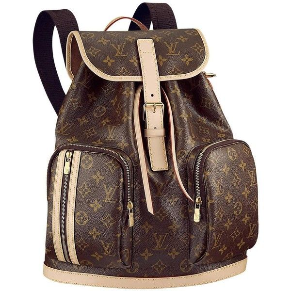f61d9ca153db New Louis Vuitton Bosphore Backpack In Striking Monogram Canvas ...