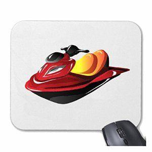 Tapis de souris Mousepad (Mauspad) «BATEAUX JET SKI JET SKI ET BATEAU ACCESSOIRES JETSKI LICENCE» pour votre ordinateur portable,…
