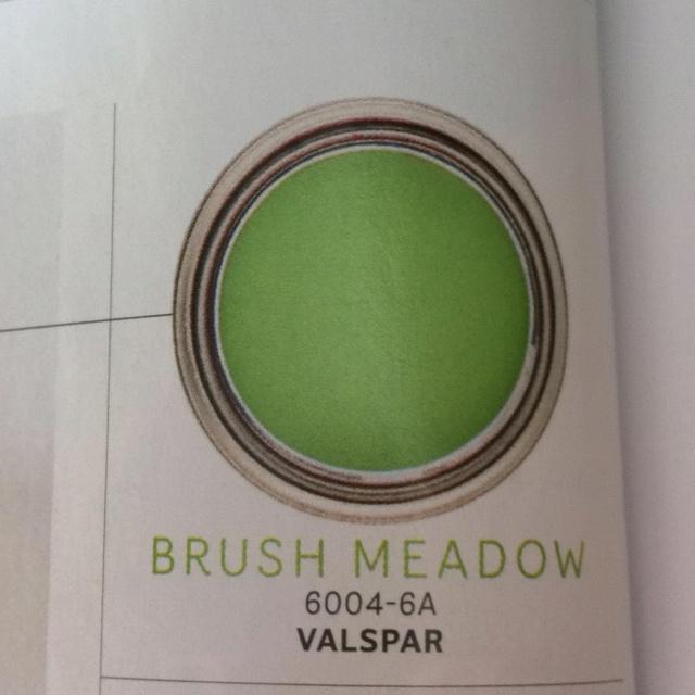 Brush Meadow Valspar Paint Colour For Hte Green