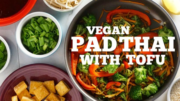 VEGAN PAD THAI WITH TOFU | MY MESSY KITCHEN - YouTube