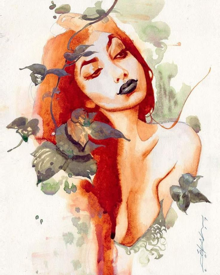 Poison Ivy by Jeff Dekal. ❣Julianne McPeters❣ no pin limits