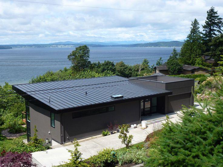 Standing seam metal roof, West Seattle - European Roofing & Sheet Metal LLC
