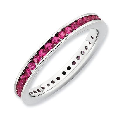 1000 Ideas About Ruby Eternity Ring On Pinterest