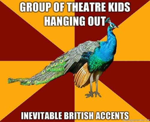 This unavoidable situation. | 26 Jokes Only Theatre Nerds Will Understand