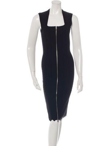Alaïa Bodycon Jacquard Dress