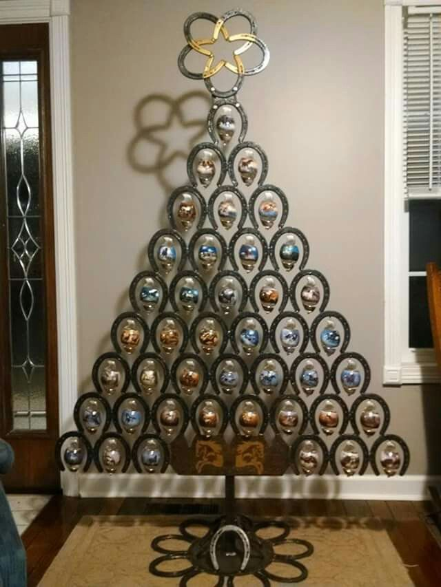 25 Unique Horseshoe Christmas Tree Ideas On Pinterest