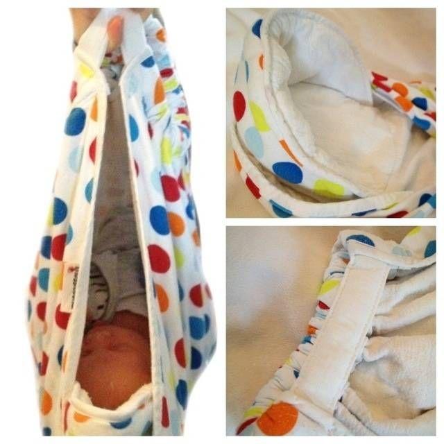 SnuggleBundle Wrap... ziet dit er niet erg mooi, schattig en vooral bijzonder handig uit! Superleuk kraamcadeautje lijkt me.