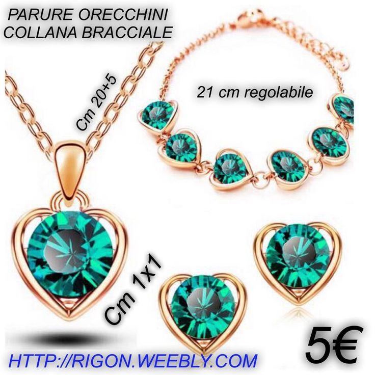Très Oltre 25 idee carine per Orecchini verde smeraldo su Pinterest  DA57