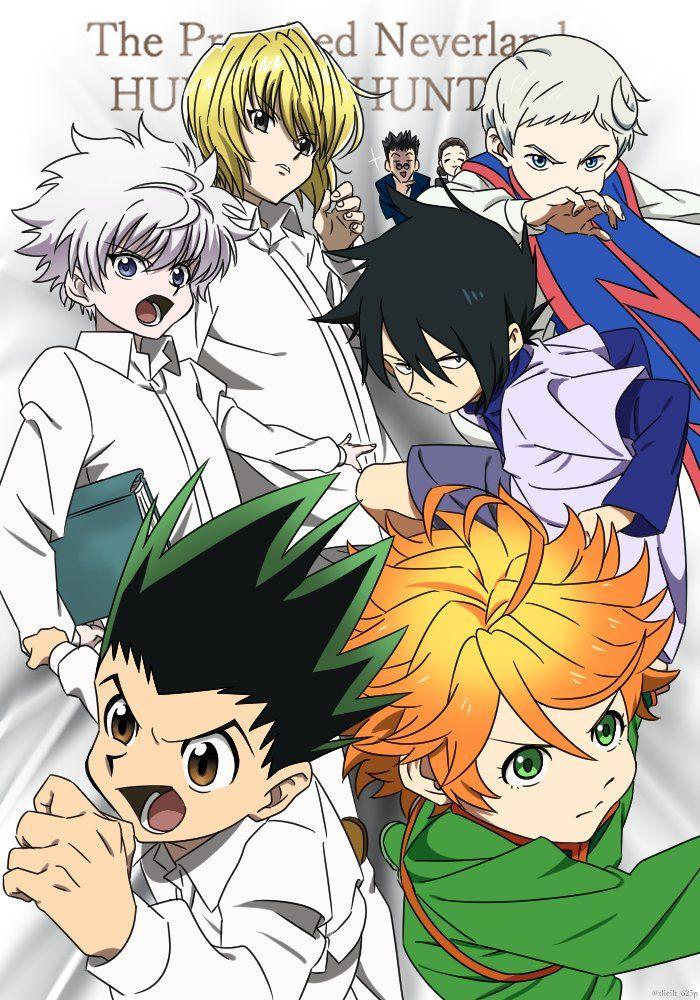 さお On Twitter In 2020 Hunter Anime Hunter X Hunter Anime Crossover
