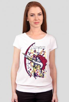 Koszulka damska SOUNDHUNTER biała