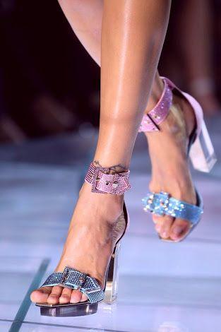 Zapatos Versace Woman