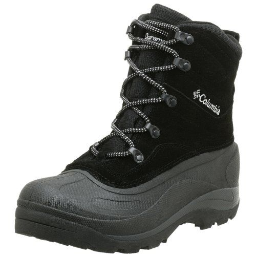 Columbia Men's BM1226 Cascadian Summit II Snow Boot,Black/Platinum,9.5 M - http://authenticboots.com/columbia-mens-bm1226-cascadian-summit-ii-snow-bootblackplatinum9-5-m/