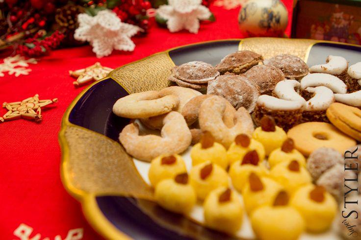 Ciastka świąteczne, na sylwestra i karnawał – 6 rodzajów #ciastka #przepis #kuchnia