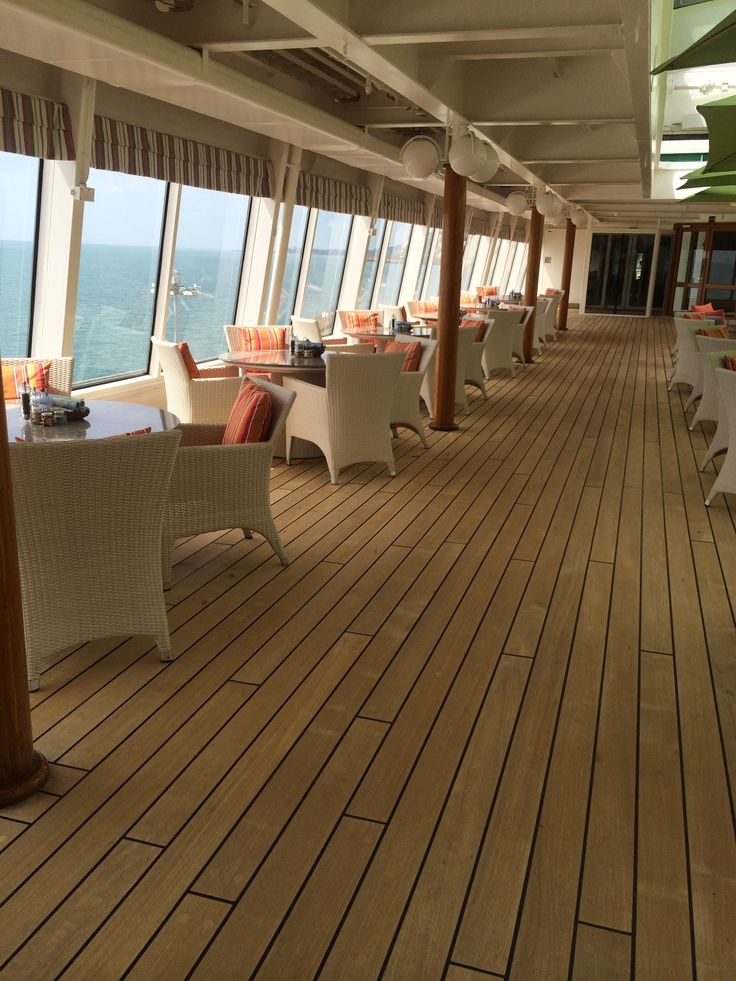 Crystal Cruises - Crystal Symphony, Deck