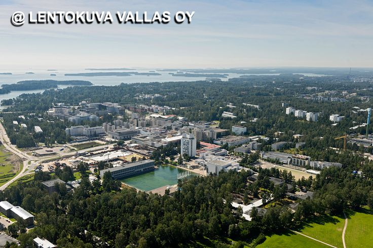 Espoo, Tapiola Ilmakuva: Lentokuva Vallas Oy