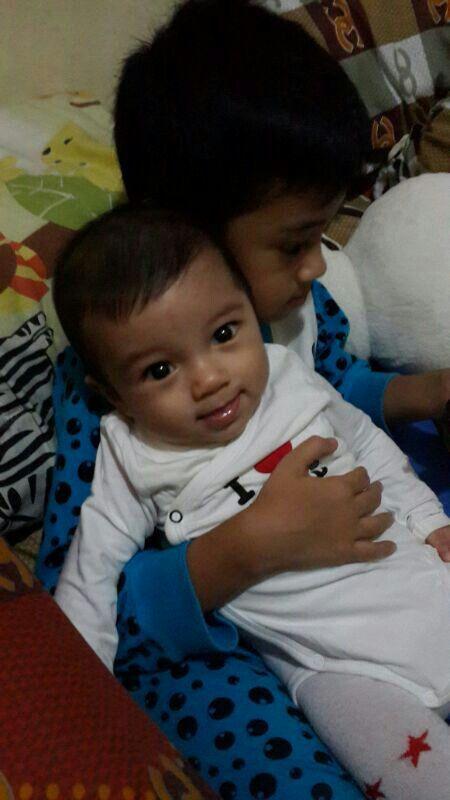 Abbiy n his number one brother arya