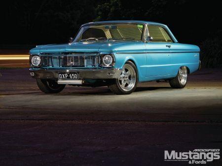 1965-Ford-Xp-Falcon - Falcon, Blue, 1965, Classic