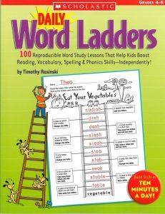 Daily Word Ladders Gr 4-6   I use these everyday with seat work to build word knowledge, problem solving & vocabulary.