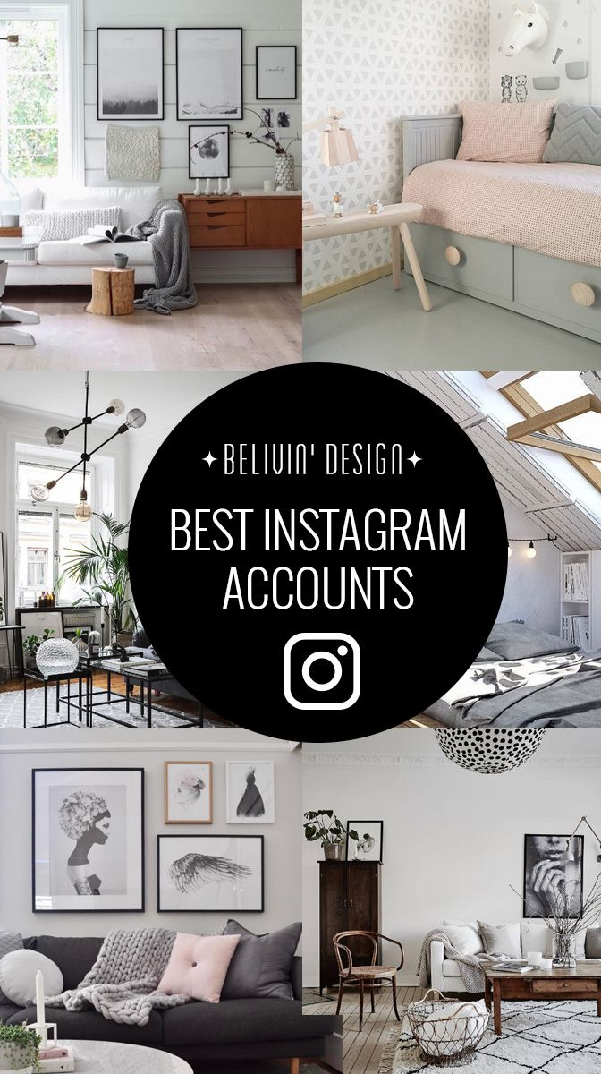 All Scandinavian design lovers, We collected 15 of our favorite Instagram accounts, follow them and you'll have your daily dose of inspiration for granted!