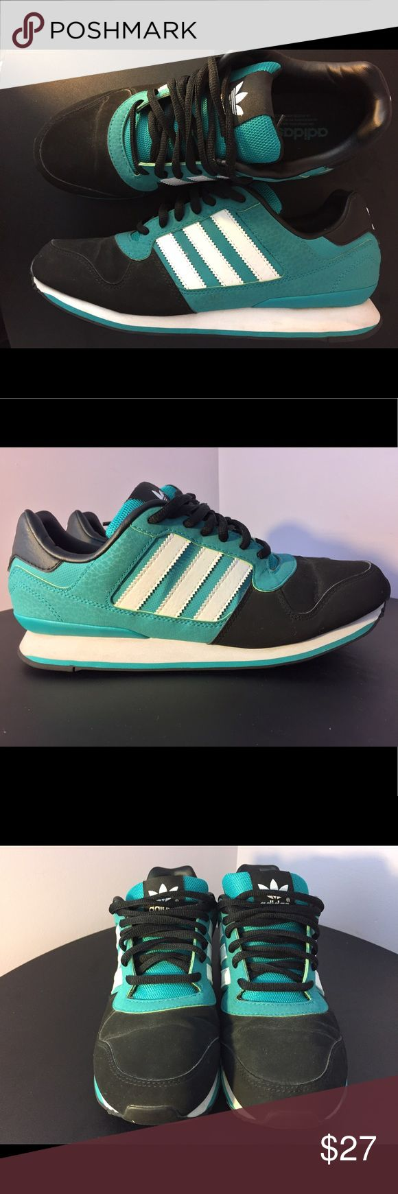 Adidas ZXZ Sneakers SIZE: Mens 9.5, Womens 11 CONDITION: Great condition, worn 2x SPECS: Upper includes leather-suede-mesh, comfortable rubber sole adidas Shoes Sneakers