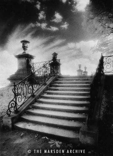 Steps, Chateau Vieux, Saint-Germain-en-Laye, Paris
