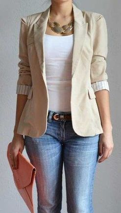 20+ Stunning Work Outfits With Blazer