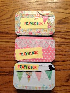 A Traveler's Dream: DIY Altoid Tin Prayer Boxes
