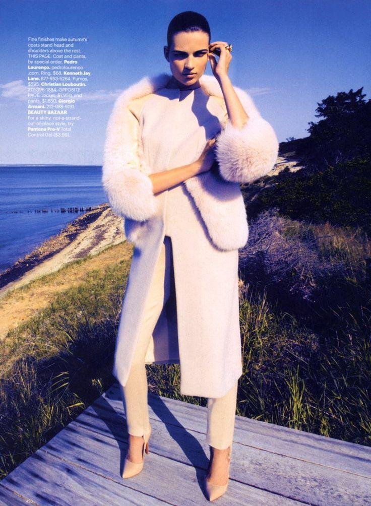 Bette Franke by Camilla Akrans for Harpers Bazaar US