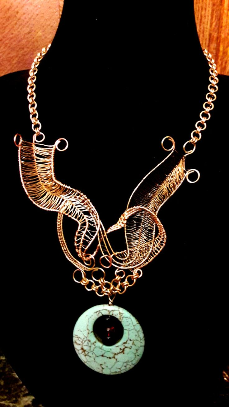 Bird In Flight With Turquoise by ExceptionalDesigns13 on Etsy