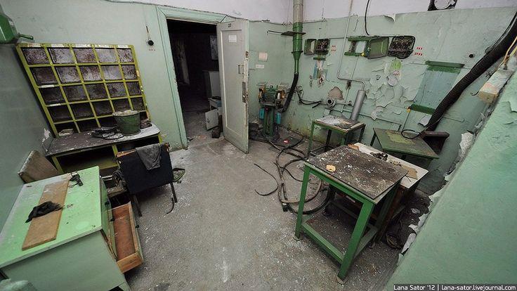 Abandoned Foundry 3 via English Russia by Lana Sator
