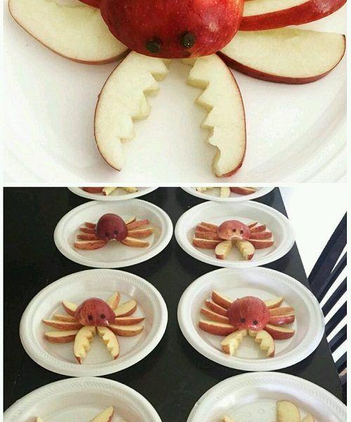 Elmadan Nasıl Yengeç Yapılır?