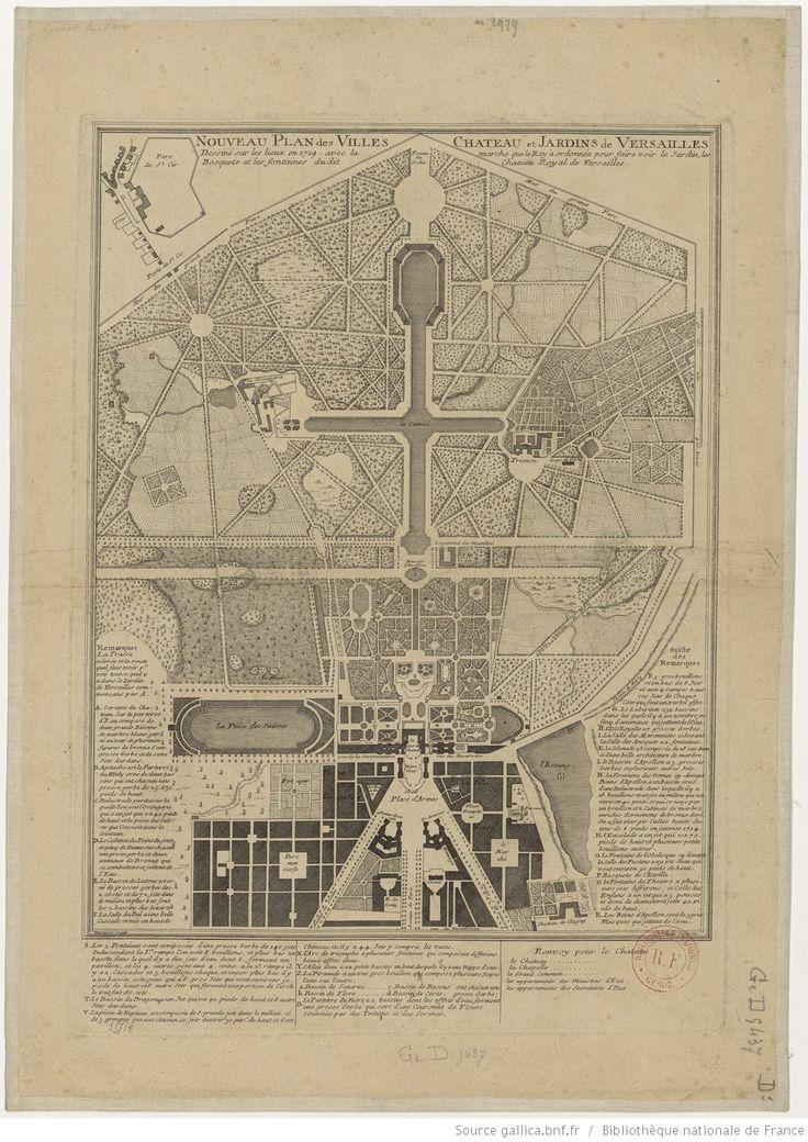 17 best images about versailles floor plans on pinterest louis xiv toilets and the villages - Cabinet mansart versailles ...
