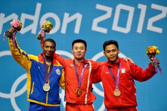 Otro colombiano en el podio olímpico.