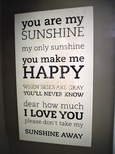 I've been wanting to make or buy a sign with this saying -  You are My Sunshine: Bird S Papaya, Eat In Kitchen, Baby Girl, Baby Pictures, Home Kitchens, Baby Chicks, Baby Boy, Birds, Baby Sometimes
