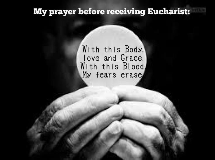 Eucharist prayer. Lifeteen Catholics!